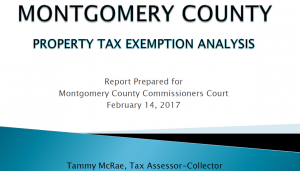 Property Tax Exemption Status