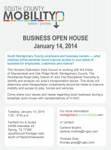 South County Mobility Study to host Business Open House