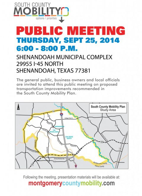 South County Mobility Public Meeting