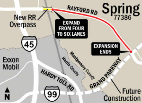 Rayford Widening Project