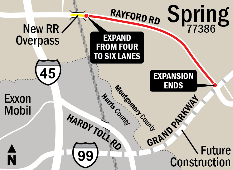 Rayford Road Widening Project | Precinct 3