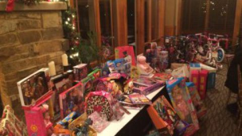 Commissioner Noack's Toys for Tots Party is a Huge Success!