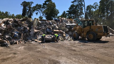 Commissioner Noack continues debris management efforts