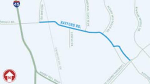 Rayford Road project progressing steadily