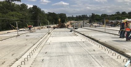 Union Pacific Railroad Overpass | Rayford Road widening project