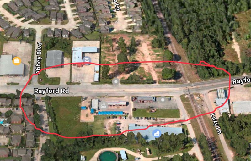 Rayford Road Sanitary Sewer Installation Closure | Precinct 3