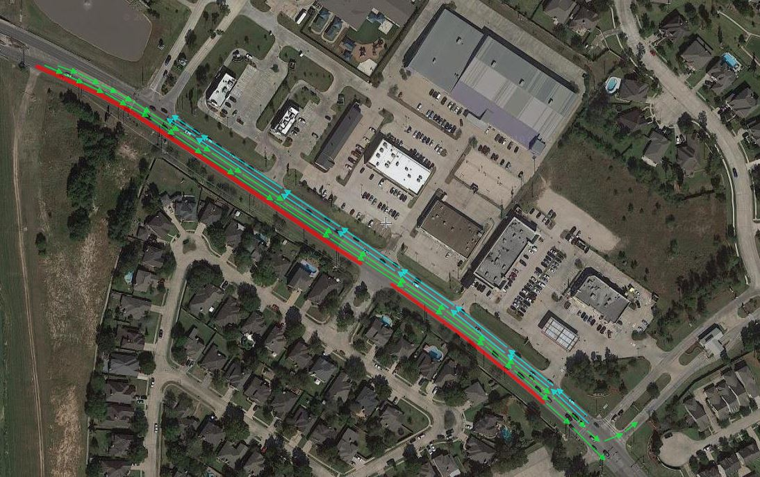 Rayford Road at Aldine Westfield barrier placement | Precinct 3