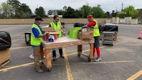 Precinct 3 Recycling Facility accepts over 50,000 pounds of material during free day