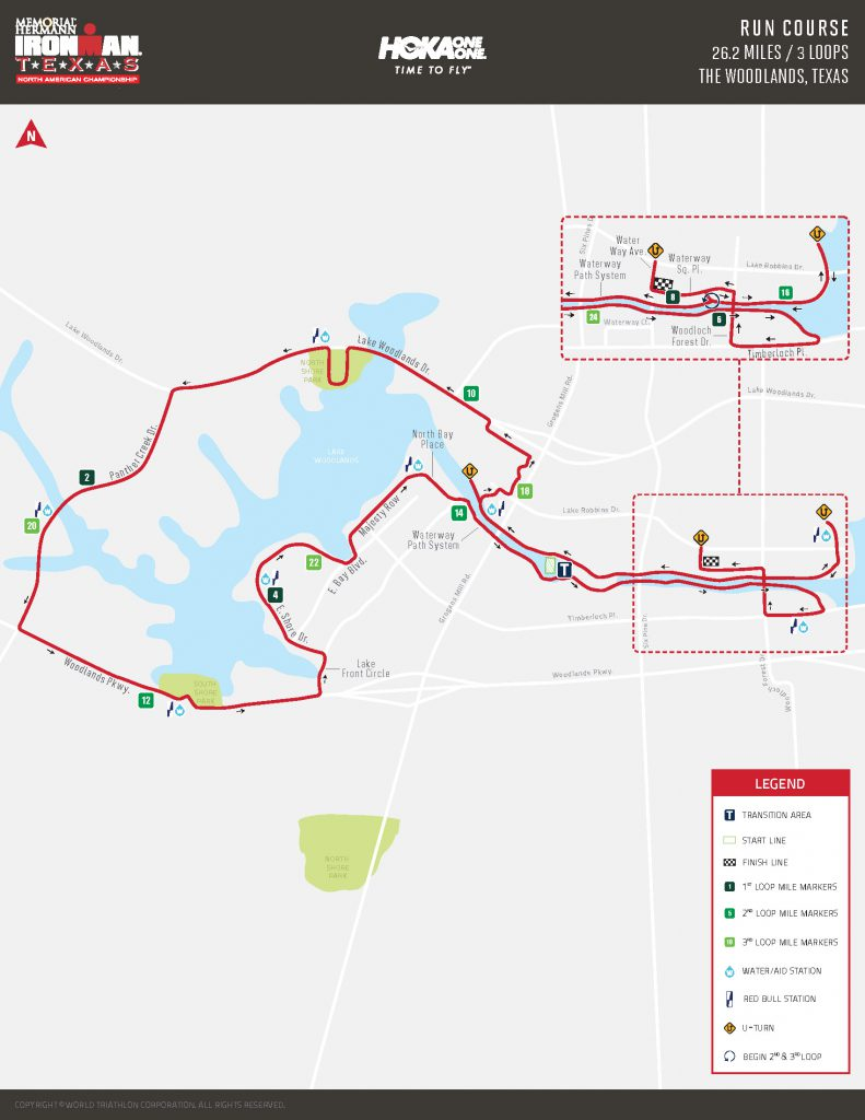 IRONMAN Run Course | Precinct 3