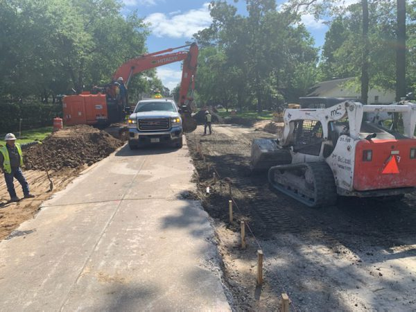Lake Woodlands Widening and Woodlands Parkway/Robinson Road at Interstate 45 Projects